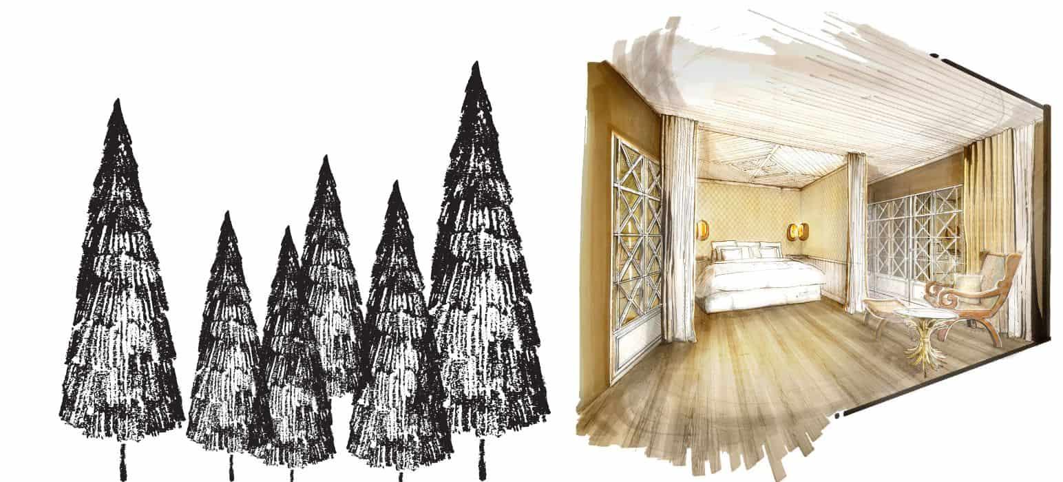 Chambres et chalets à Megève