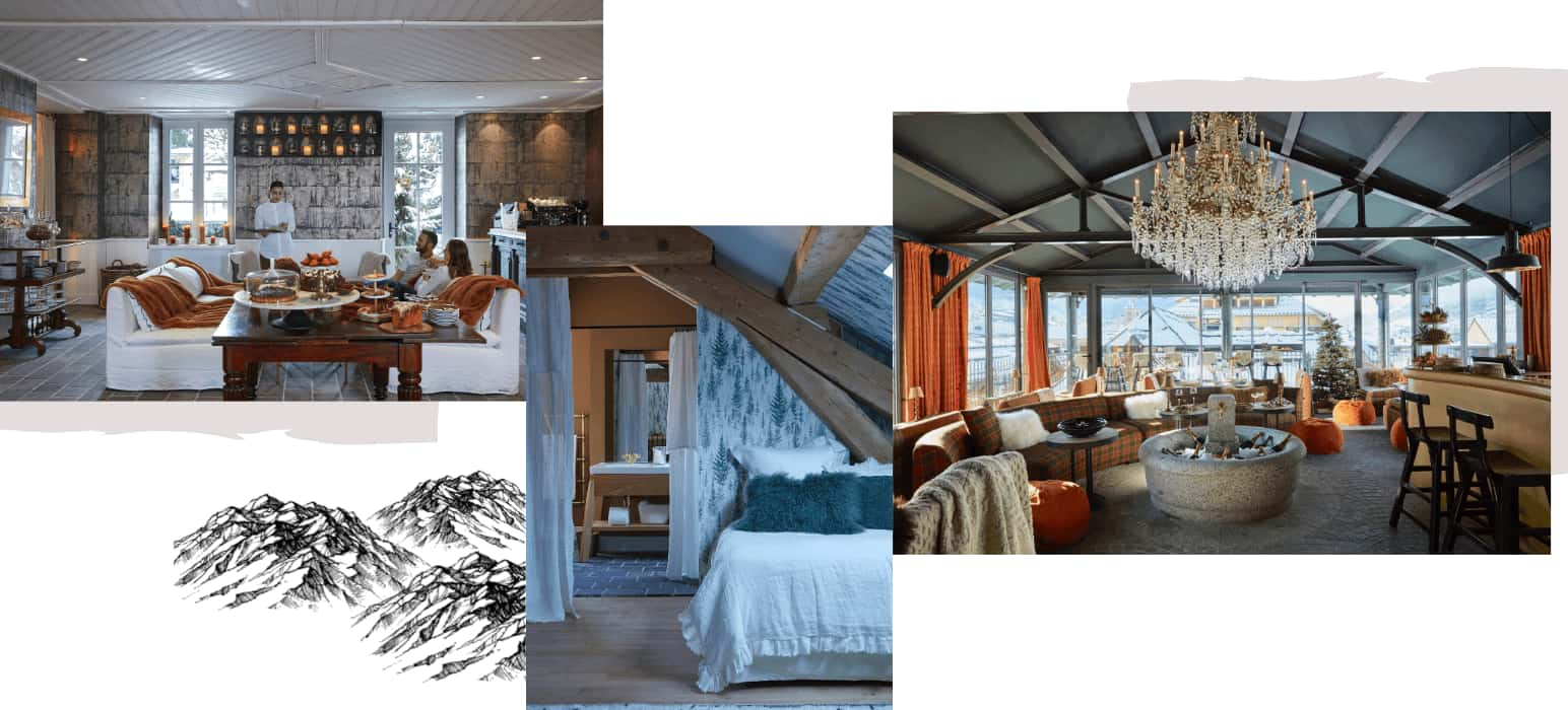 hotel luxe megeve alpes