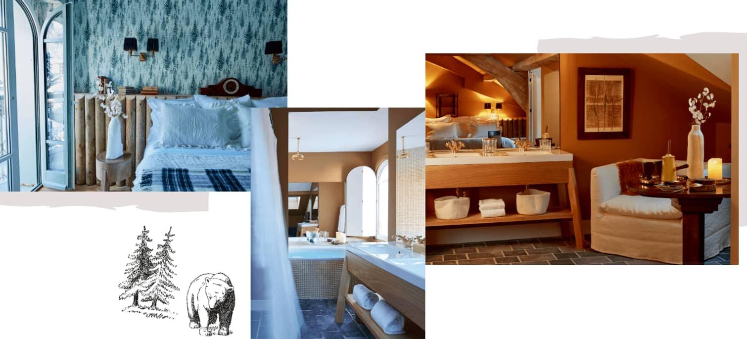 Rooms & chalets in Megève, Le Grand Hôtel du Soleil d'Or 5 stars hotel