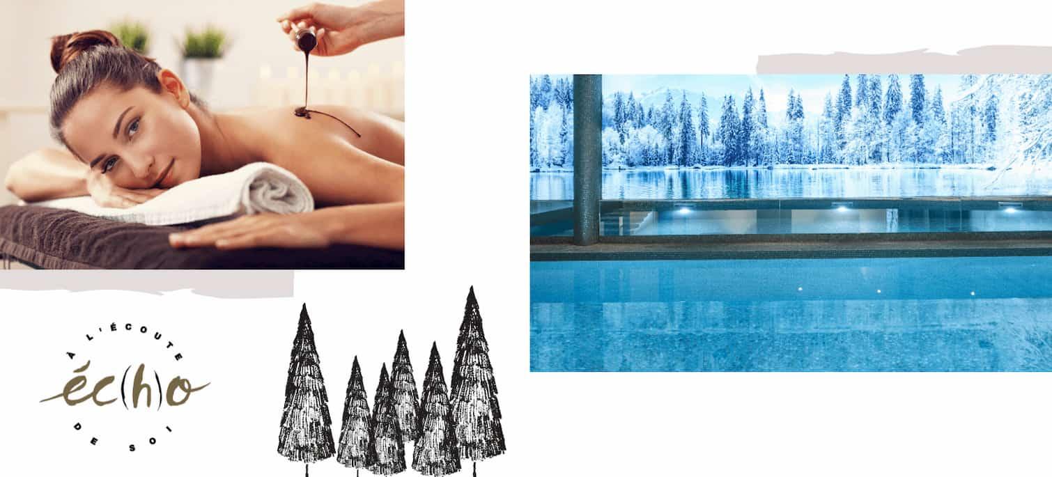Spa a Megève con piscina, sauna e massaggi