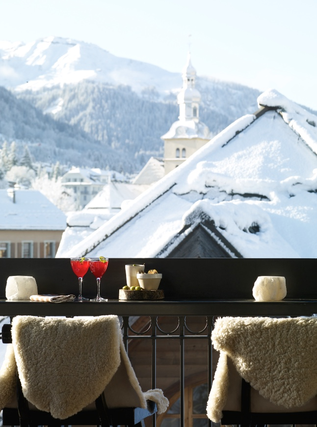 rooftop bar megeve